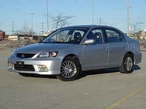 Acura EL 4 дв. седан EL