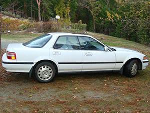 Acura Vigor 4 дв. седан Vigor
