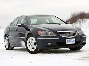 Технические характеристики Acura RL 3.5 i V6 24V AWD 2004- г.