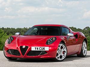 Alfa Romeo 4C 2 дв. купе 4C