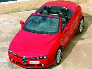 Alfa Romeo Spider 2 дв. кабриолет Spider (116)