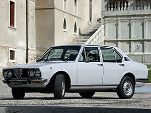 Технические характеристики Alfa Romeo Alfetta 2.0 L 1975-1981 г.