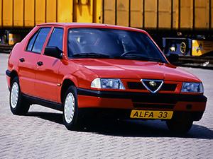 Технические характеристики Alfa Romeo 33
