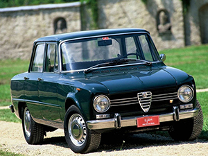 Технические характеристики Alfa Romeo Giulia Nuova Super 1.6 1962-1978 г.