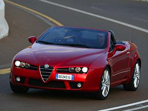 Технические характеристики Alfa Romeo Spider