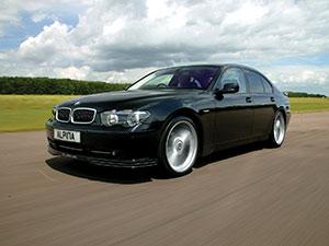 Технические характеристики Alpina BMW B7