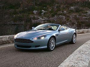 Aston Martin DB9 2 дв. кабриолет DB9 Vantage