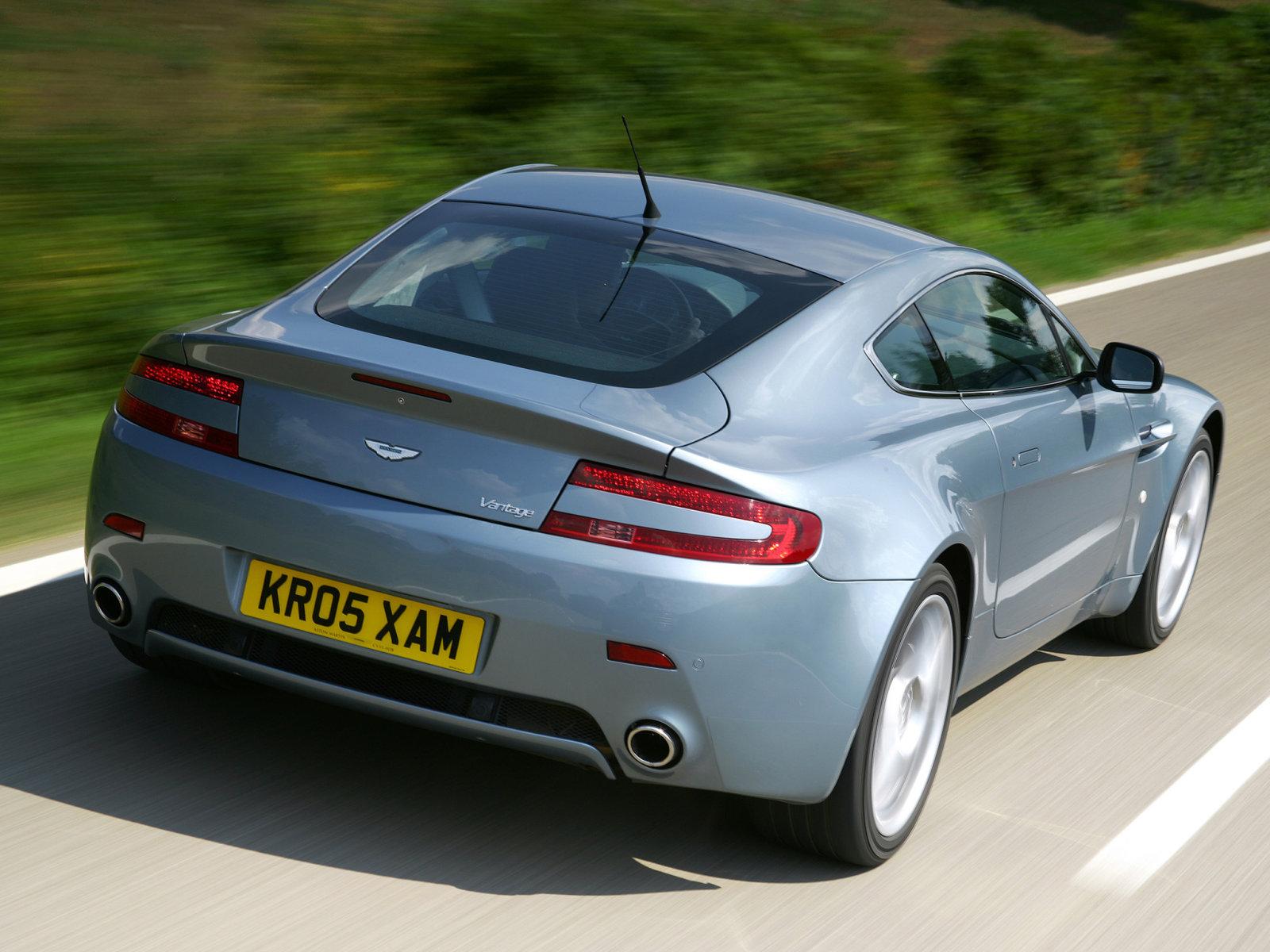 Aston Martin (Астон Мартин) V8 Coupe 2005- г.