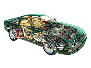Aston Martin Virage 2 дв. купе Virage