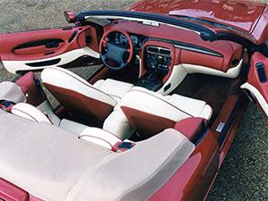 Aston Martin DB7 2 дв. кабриолет Volante