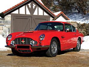 Технические характеристики Aston Martin DB6