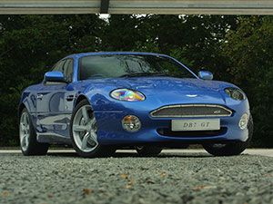 Технические характеристики Aston Martin DB7