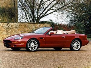 Технические характеристики Aston Martin DB7 Volante 1996-2004 г.
