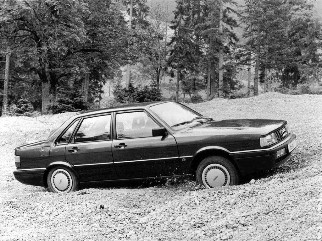 Audi (Ауди) 90 (81, 85, B2) 1984-1986 г.