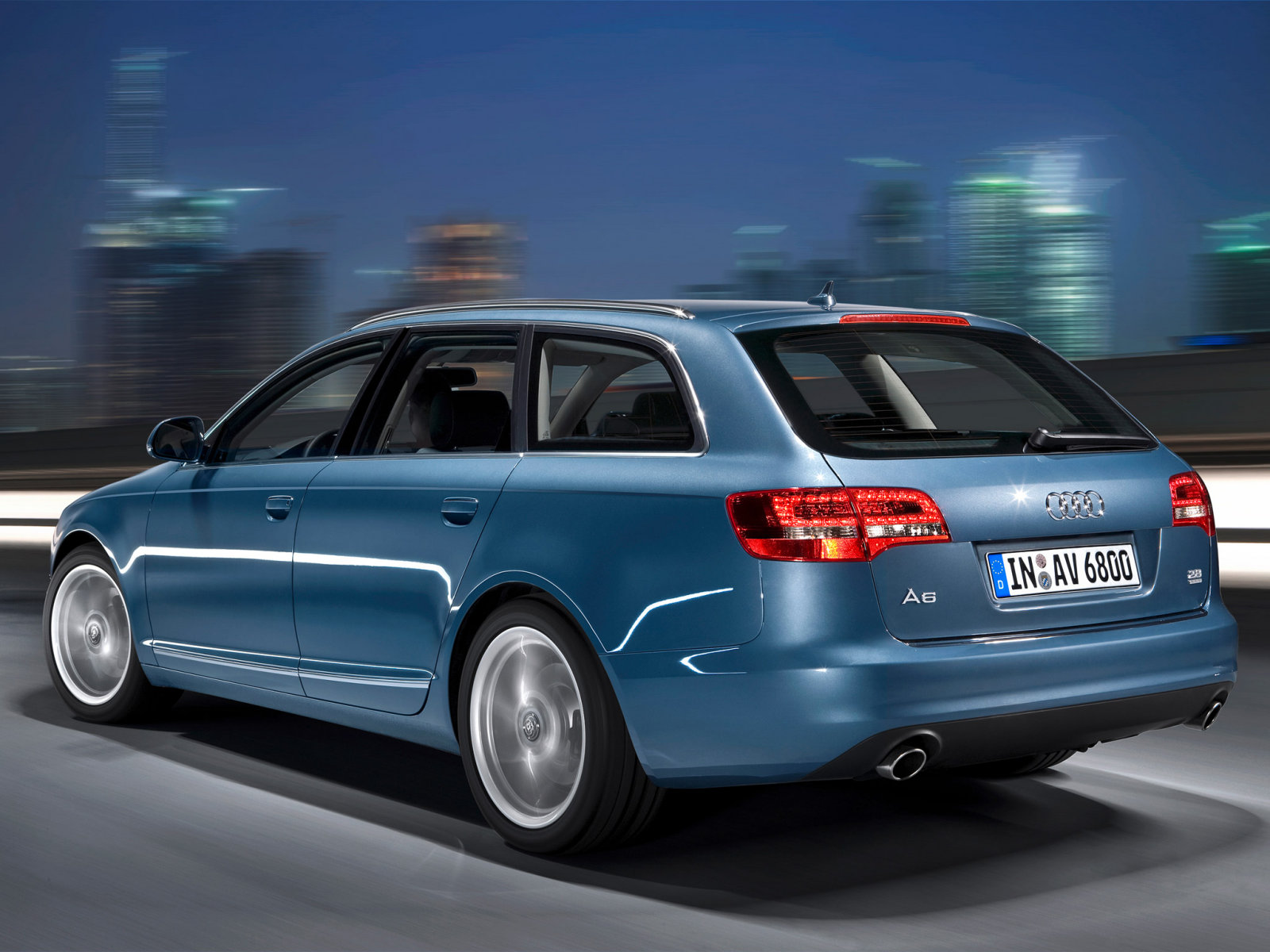 Audi (Ауди) A6 Avant (C6, 4F) 2008-2011 г.