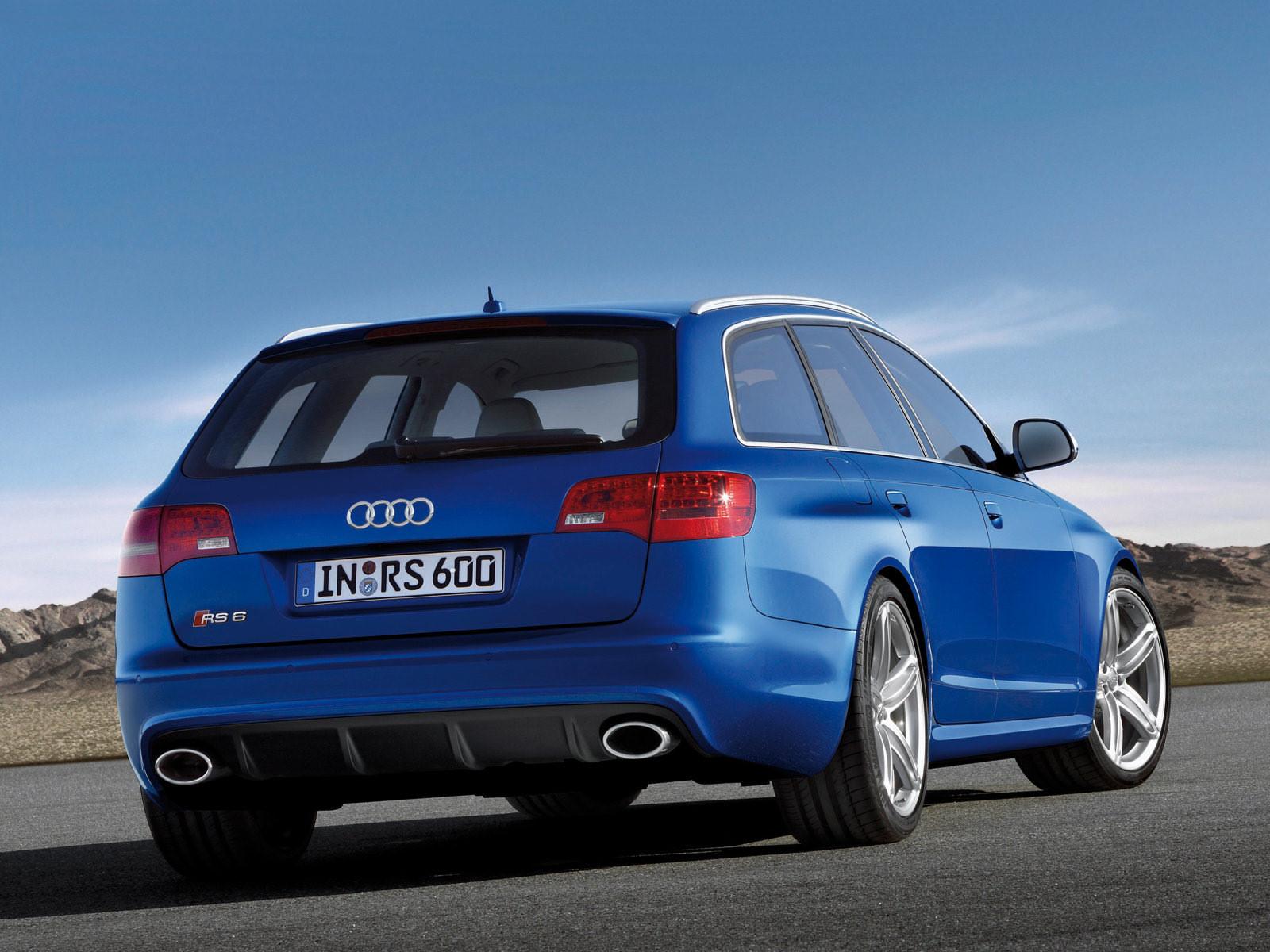 Audi (Ауди) RS6 Avant (4F,C6) 2008-2010 г.