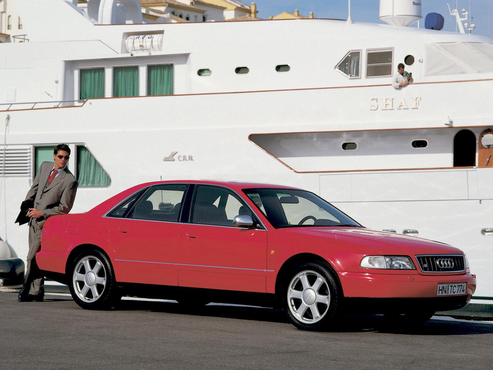 Audi (Ауди) S8 (D2) 1996-1999 г.