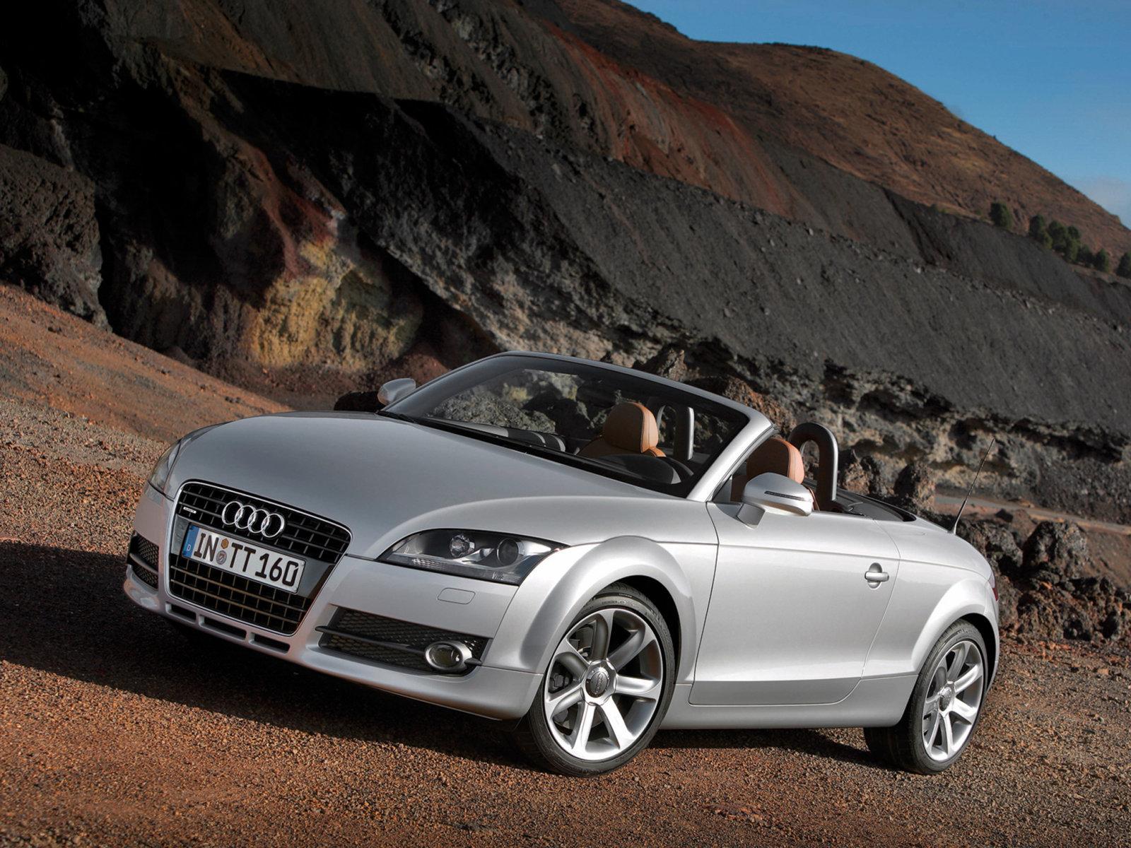 Audi (Ауди) TT Roadster (8J) 2007-2010 г.