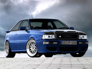 Технические характеристики Audi Coupe