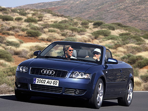 Cabriolet (8H) с 2002 по 2005