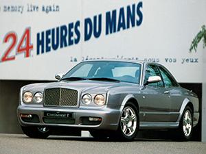 Технические характеристики Bentley Continental