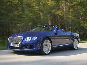 Технические характеристики Bentley Continental GTC