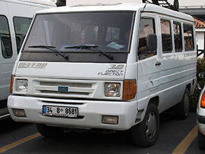 BMC Levend 4 дв. фургон Levend