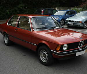 BMW 3-серия 2 дв. седан E21