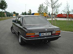 BMW 5-серия 4 дв. седан E28