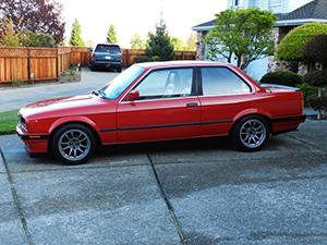BMW 3-серия 2 дв. седан E30