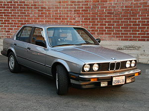 BMW 3-серия 4 дв. седан E30