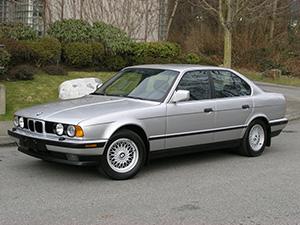 BMW 5-серия 4 дв. седан E34