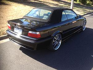 BMW 3-серия 2 дв. кабриолет E36