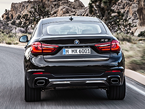BMW X6 5 дв. внедорожник F16