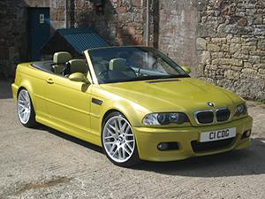 BMW M3 2 дв. кабриолет Cabrio (E46)