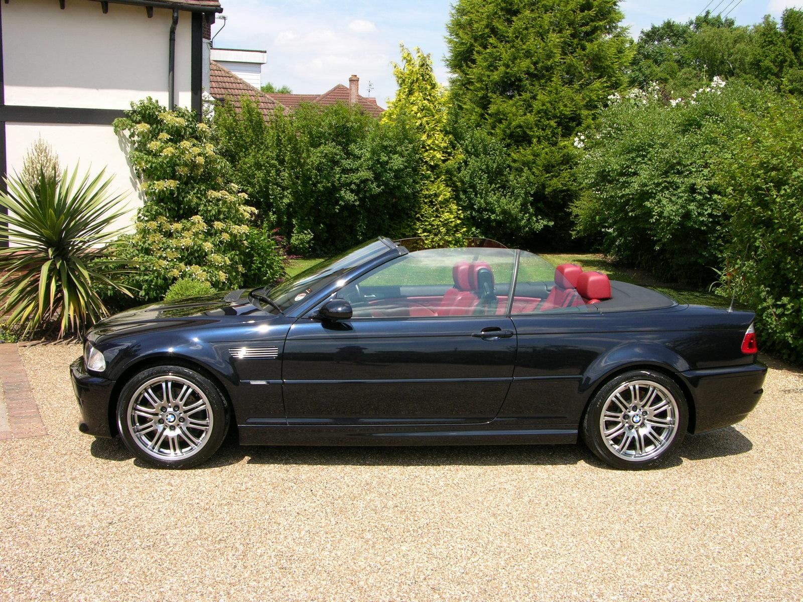 BMW (БМВ) M3 Cabrio (E46) 2001-2003 г.
