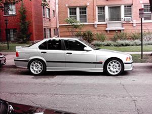 BMW M3 4 дв. седан E36