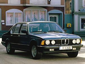 E23 с 1982 по 1986