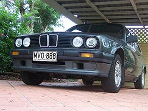 Технические характеристики BMW 3-серия 320i 1983-1991 г.
