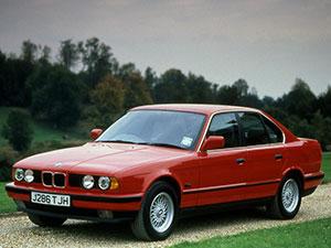 Технические характеристики BMW 5-серия 525iX 1988-1995 г.