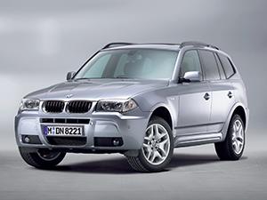 Технические характеристики BMW X3 3.0i 2004-2006 г.