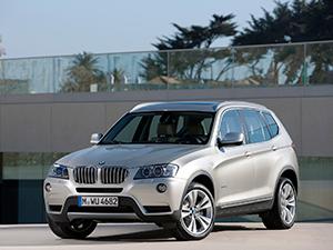 Технические характеристики BMW X3 xDrive30d 2010-2014 г.