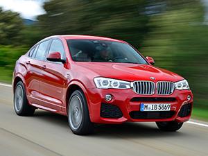 Технические характеристики BMW X4