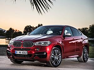 Технические характеристики BMW X6 M
