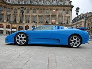 Bugatti EB 110 2 дв. купе EB 110
