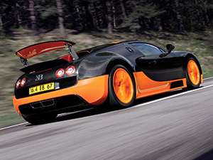 Bugatti Veyron 2 дв. купе Super Sport