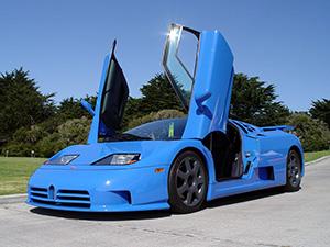 Технические характеристики Bugatti EB 110
