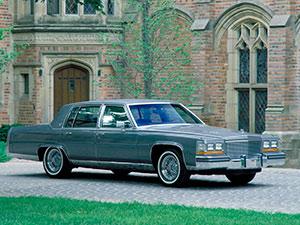 Технические характеристики Cadillac Brougham