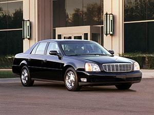 Технические характеристики Cadillac De Ville