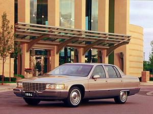 Технические характеристики Cadillac Fleetwood
